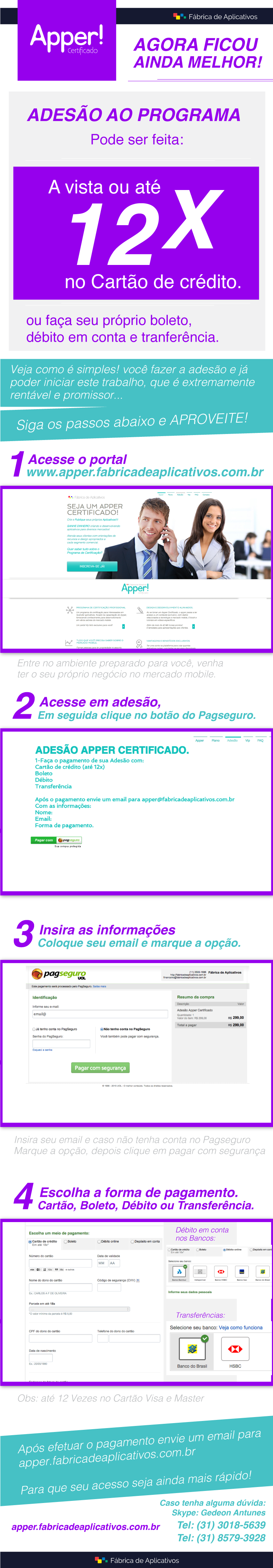 apper certificado